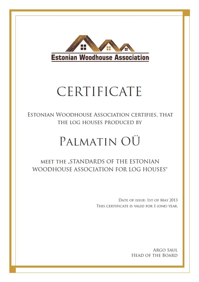 Palmatin-houses-certification